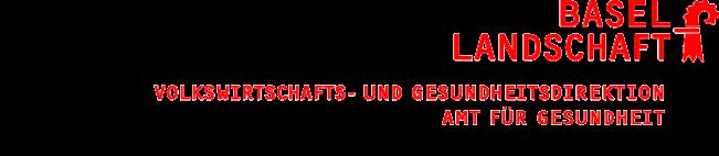 Amt für Gesundheit BL Logo